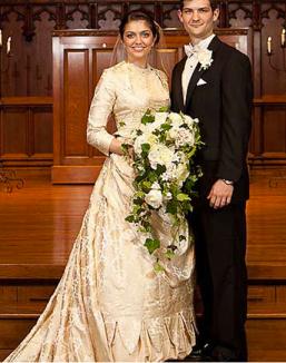 2011: Allison wearing the dress