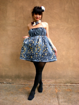 Modeled by Irene Yang; Designed by Helen, 2011