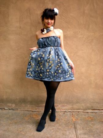 Modeled by Irene Yang; Designed by Helen, 2011