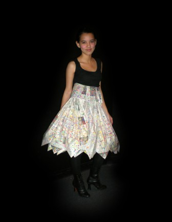 Modeled by Nidia; Designed by Helen, 2009