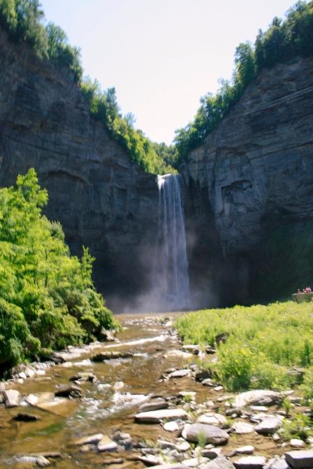 215 Foot Waterfall; Photo Courtesy David Arellanes