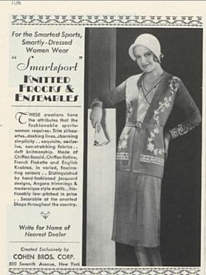 Vogue Archive 77:2 - Advertisement: Cohen Bros. January 15, 1931