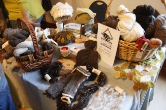 Black Mountain Weavers fiber products, 2013; Photo courtesy David Arellanes