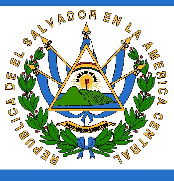 Salvadorean flag Coat of Arms