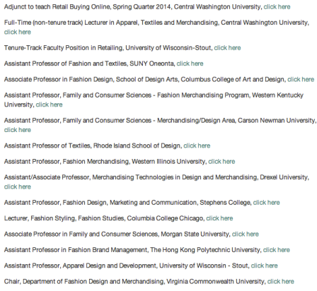 Positions currently available through ITAA, Feb 2014
