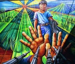 Juana Alicia; Alto al Fuego/ Ceasefire, 1988