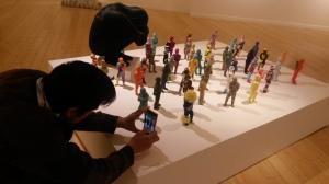 Bystander by Artist June Lee, 2011-2014; CAFAM Los Angeles CA