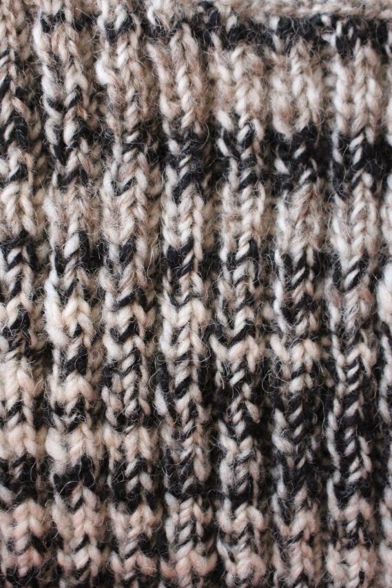 Wool-Mohair-Alpaca Handspun Handknit, 2017