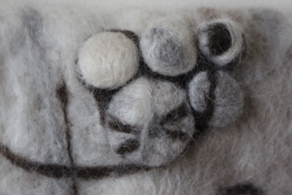Felted Bubbles, 2015