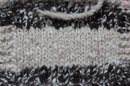 Alpaca-Merino Stockinette, 2015