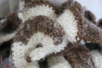 Crochet wool and alpaca, Helen Trejo Half Scale Pre-Pilot, 2015