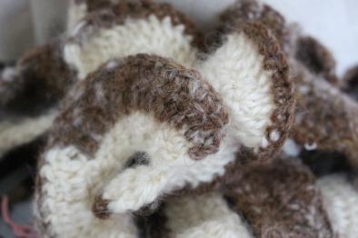 Crochet wool and alpaca, Helen Trejo Half Scale Pre-Pilot, 2015