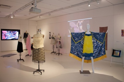 Sustainable Fashion exhibit, 2016