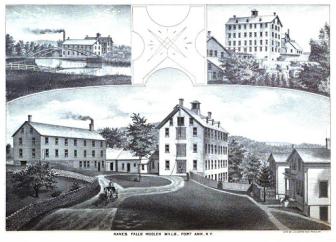 Kane Falls Woolen Mill, 1848