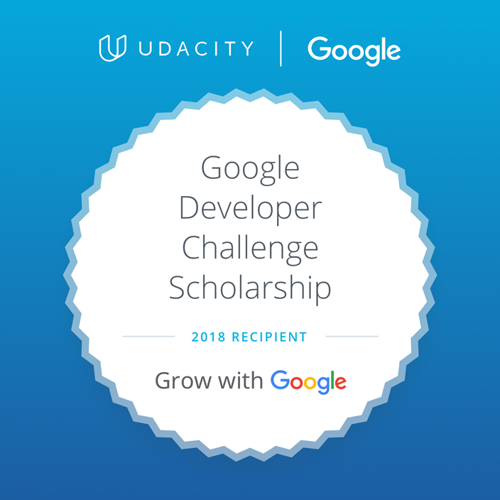 GrowWithGoogleDeveloperChallengeScholarship